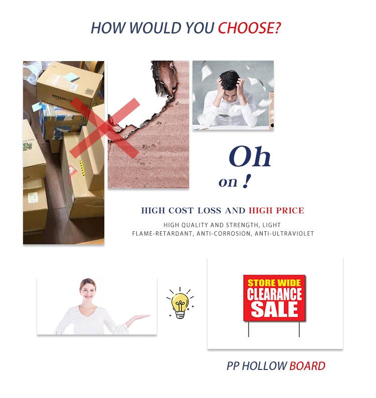 plastic advertising sign (4)
